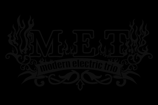 met modern electric trio bitterpill music hard rock americano