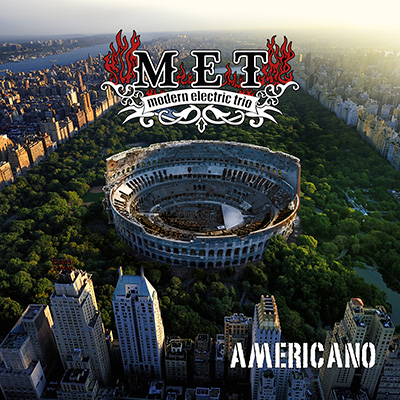 met americano modern electric trio hard rock blues